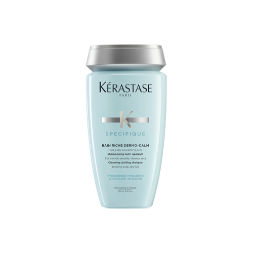Professional Shampoo for Dry Hair and Sensitive Scalp