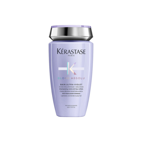 Professional Shampoo for Neutralization of Yellow Tones